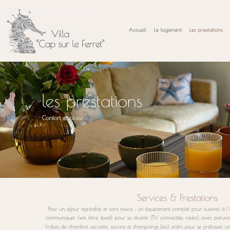 creation référencement site internet lege Cap Ferret